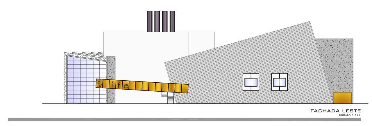 fachada leste