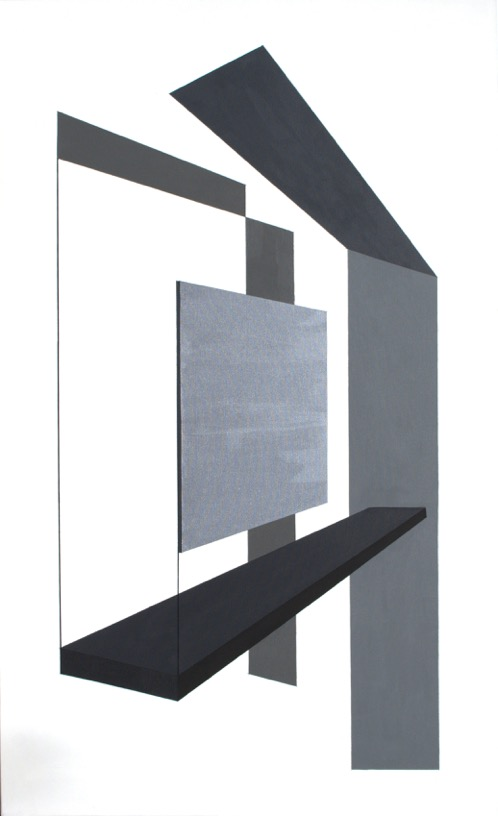 ANM 0053_Ana Mähler_O Concreto e o Incerto 5_acrílica e caneta posca sobre tela_130x80cm_foto Letícia Lau